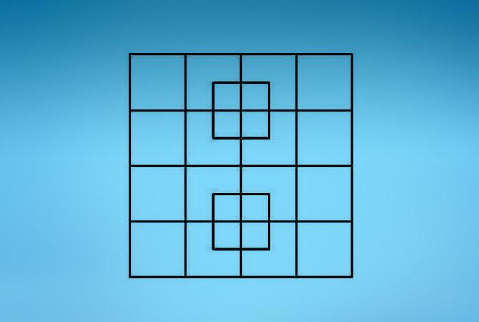 Сколько квадратов на картинке ответ