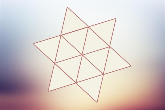 Сколько треугольников вы видите на изображении?